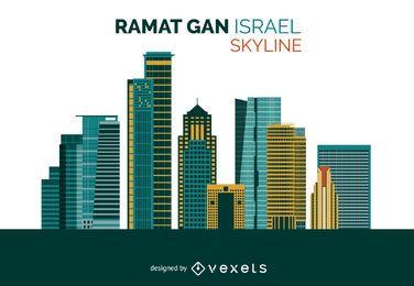 Diseño del horizonte de Ramat Gan