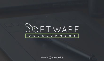 Software development logo template
