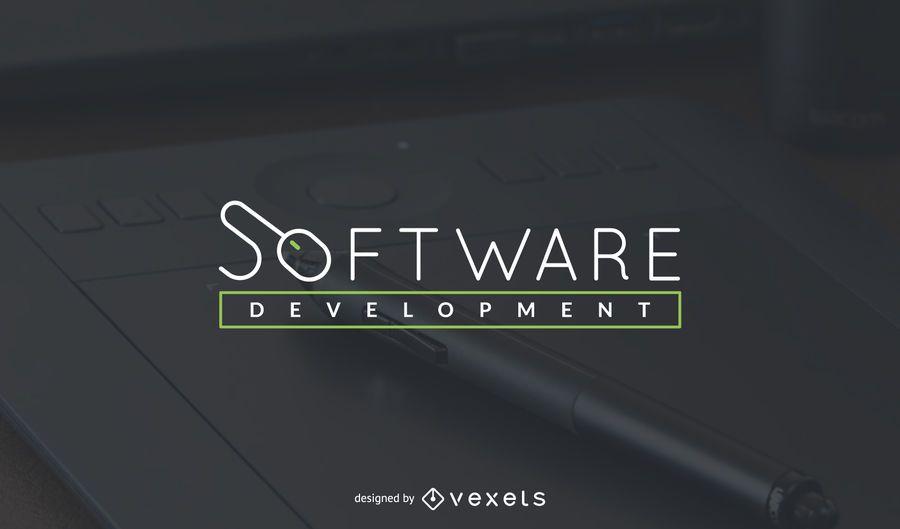 Software development logo template