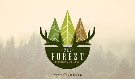 Nature logo template design