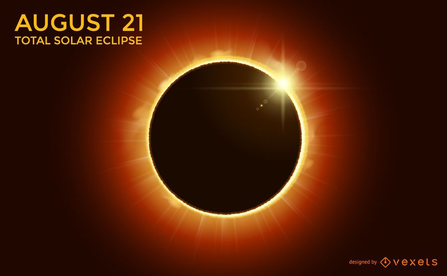 Total Solar Eclipse design