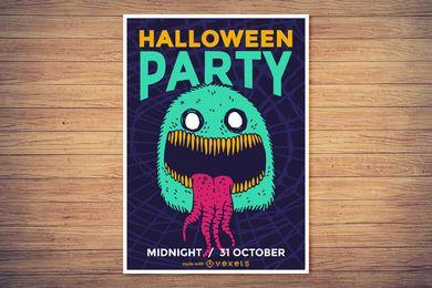 Gruseliger Halloween-Plakatmacher