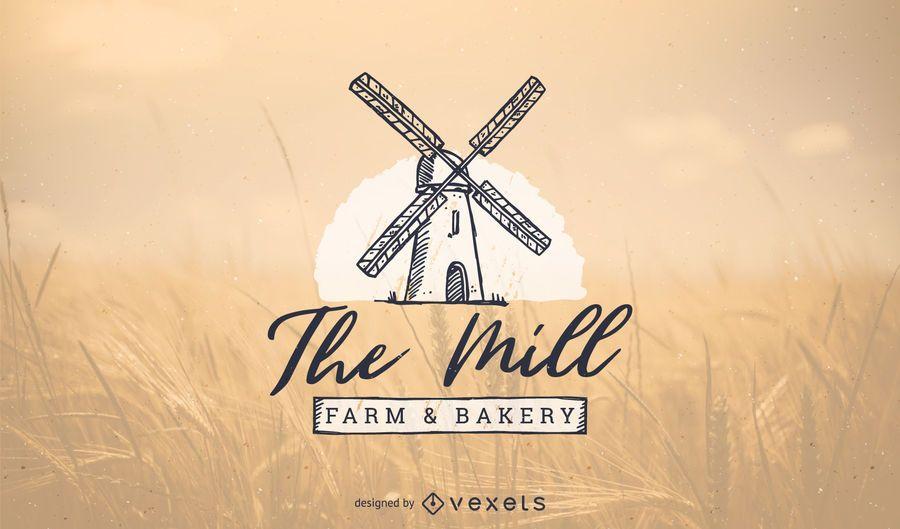 Bakery logo template design