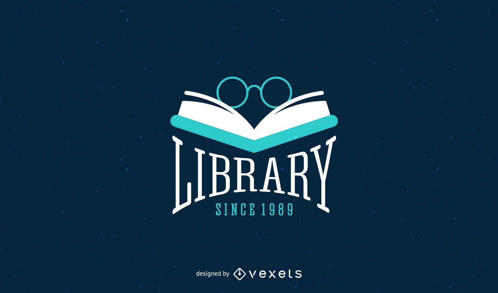 Diseño de plantilla de logotipo de biblioteca - Descargar vector 05a29141deef5
