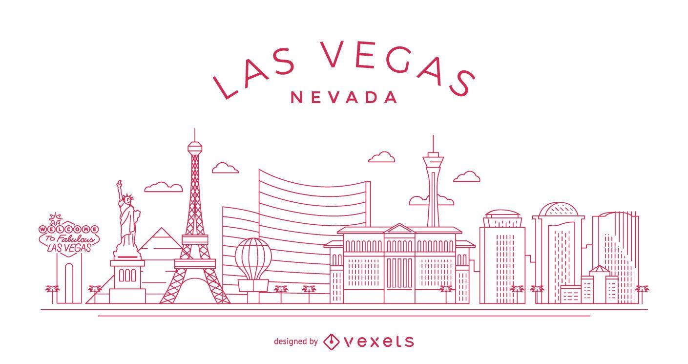 Horizonte de trazo de Las Vegas