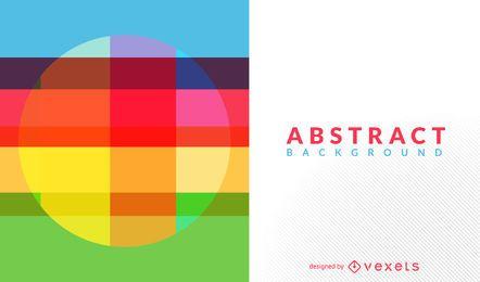 Diseño de fondo abstracto de colores brillantes