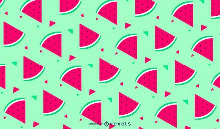 Cute seamless watermelon pattern
