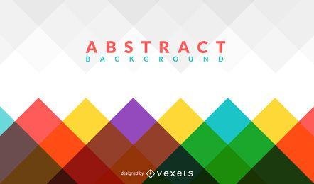 Geometrischer und bunter abstrakter Hintergrund