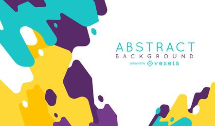 Abstract background with overlapping shapes
