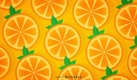Padrão de laranja sem costura