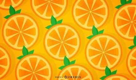 Patrón naranja transparente