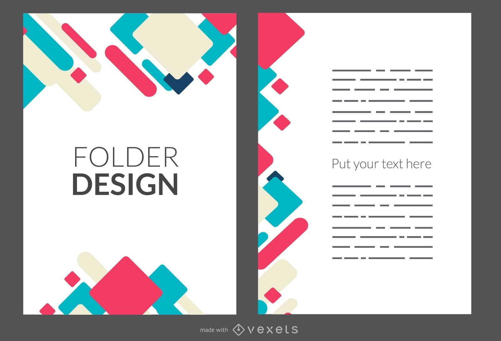 Cover Or Folder Maker Editable Design