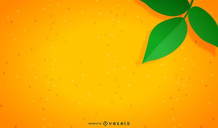 Fundo laranja minimalista