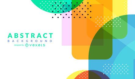 Bright dotted abstract background