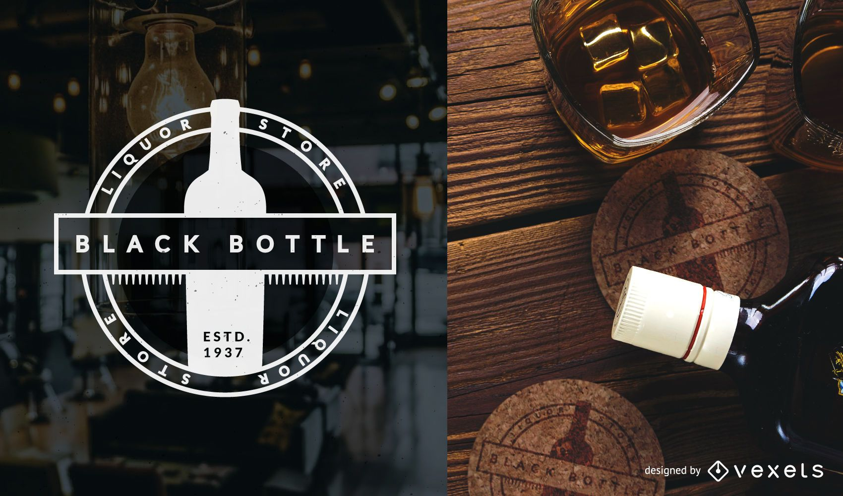 Liquor Store Logo Template Vector Download