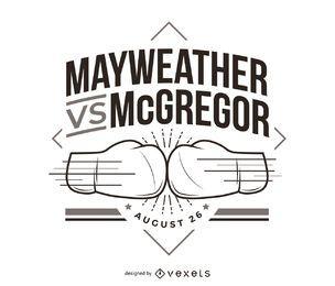 Mayweather vs McGregor pelea de boxeo
