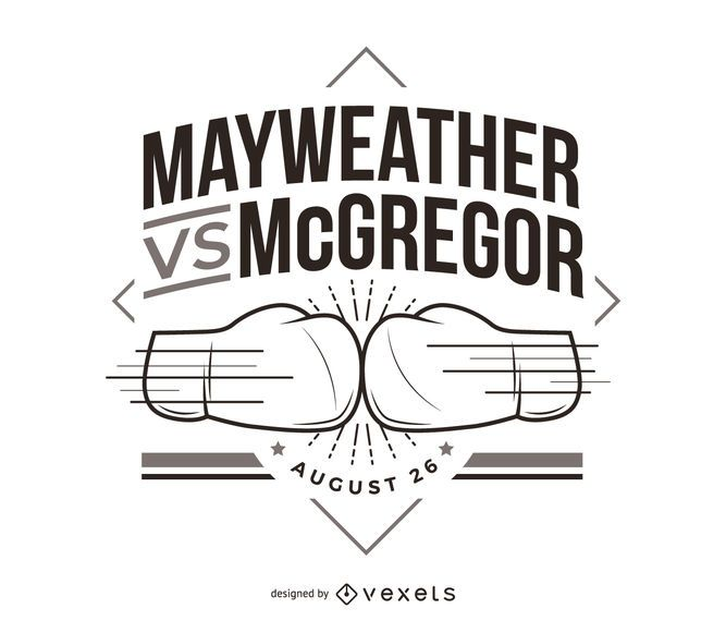 Mayweather vs McGregor boxing fight