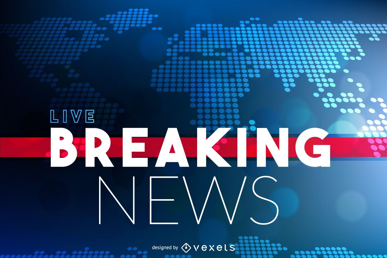 Imagem de cabeçalho do Live Breaking News