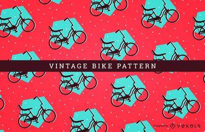 Padrão de bicicleta sem costura