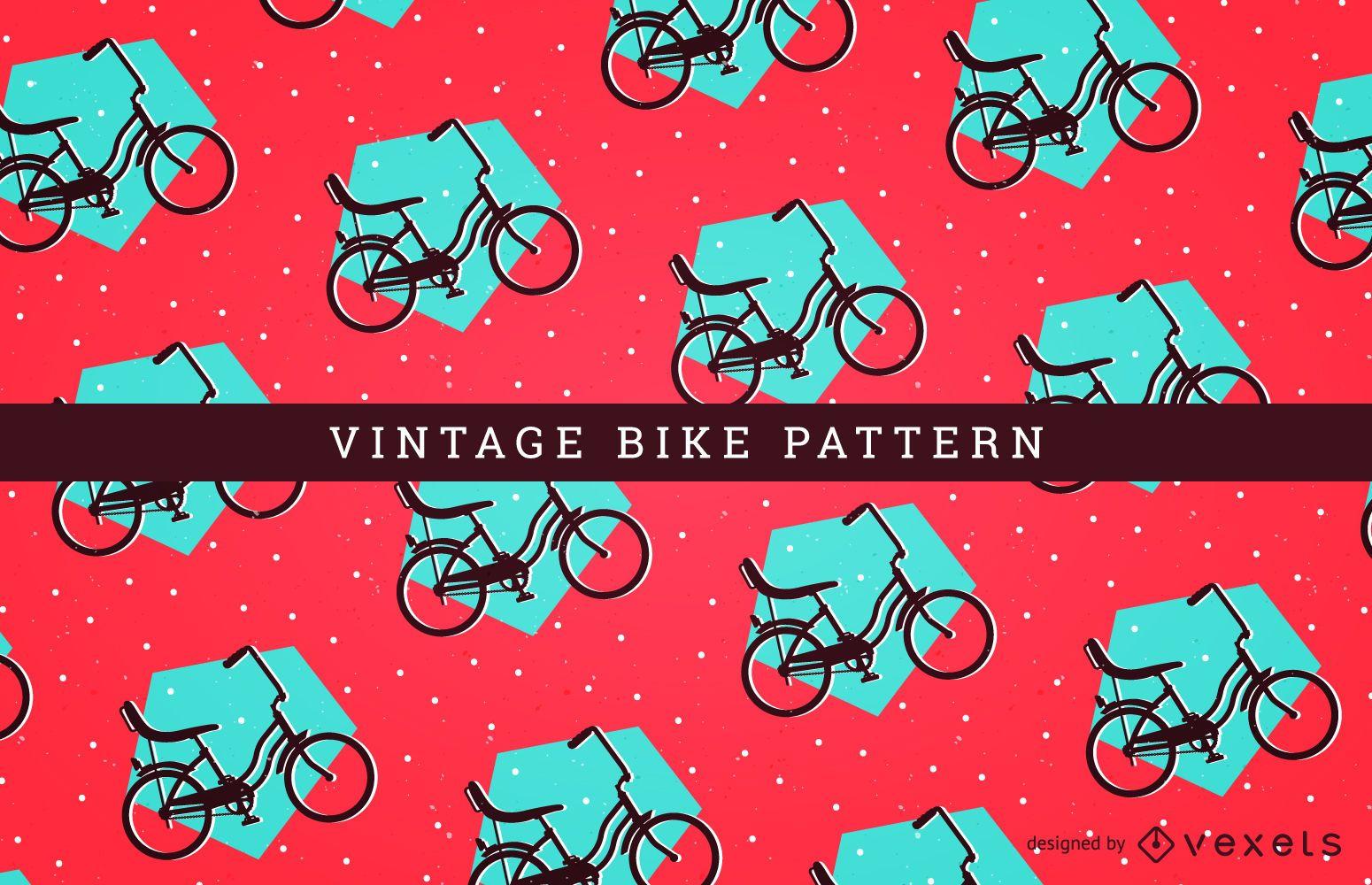 Patrón de bicicleta perfecta