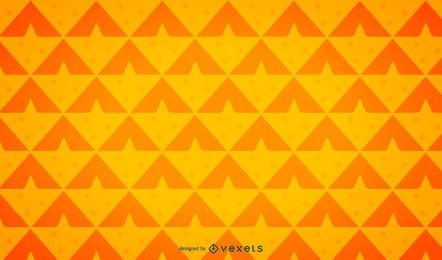 Minimalist pineapple background pattern