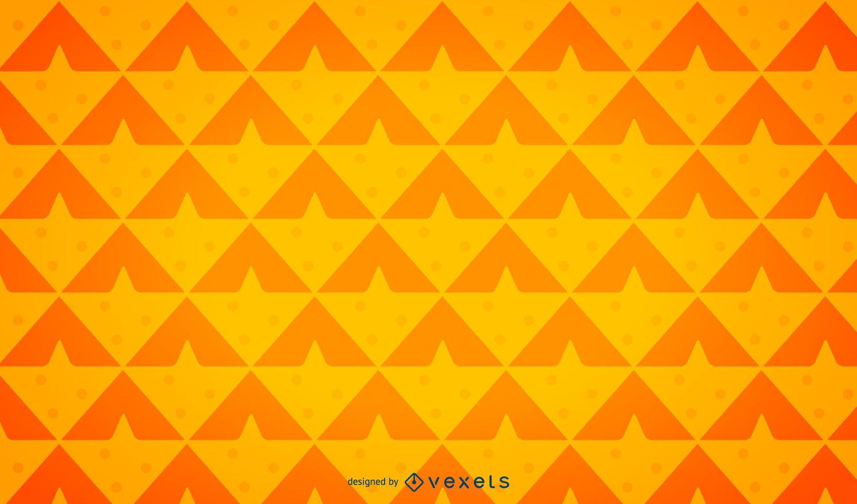 Minimalist pineapple background pattern
