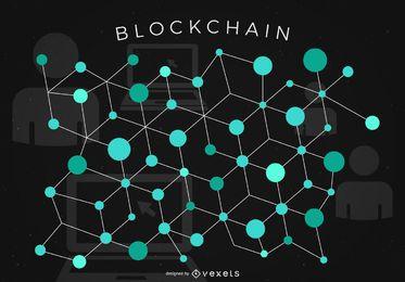 Diseño de bloque de bloques Bitcoin