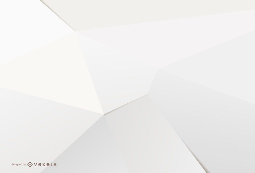 Fundo branco 3D minimalista
