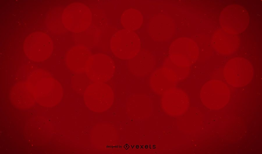 Red Opaque Bokeh Background