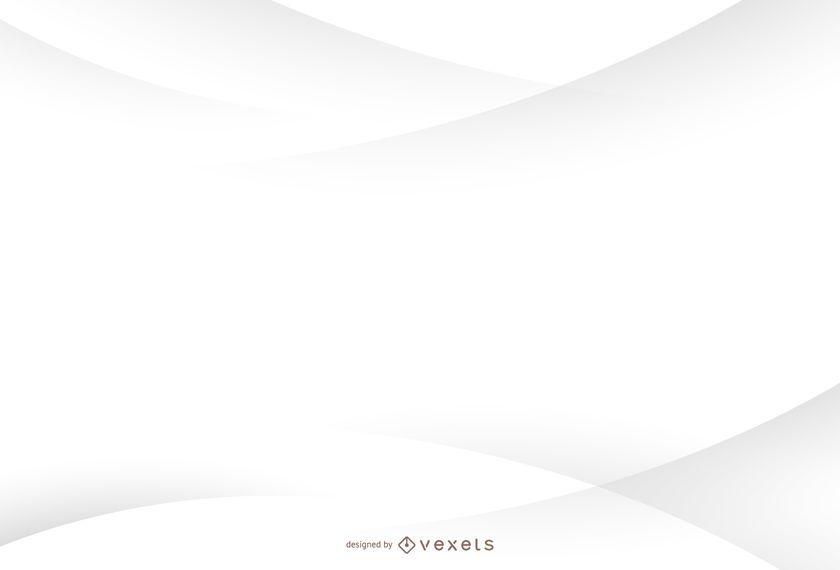 Fundo branco minimalista com curvas