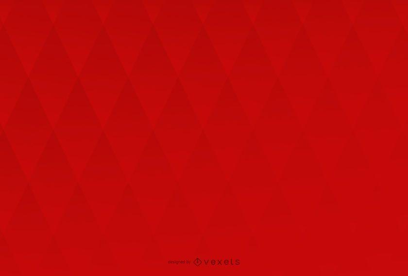 Diseño de fondo rojo con rombo