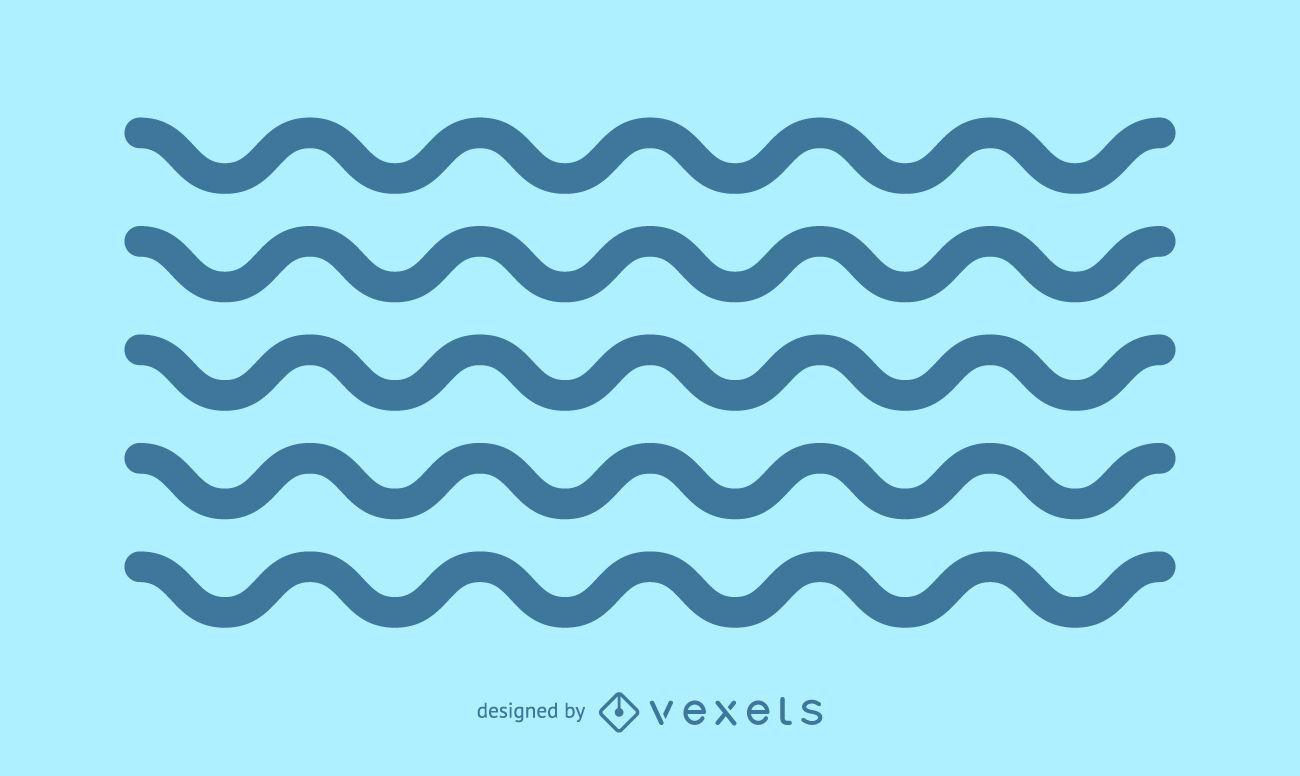 Minimalist stroke waves