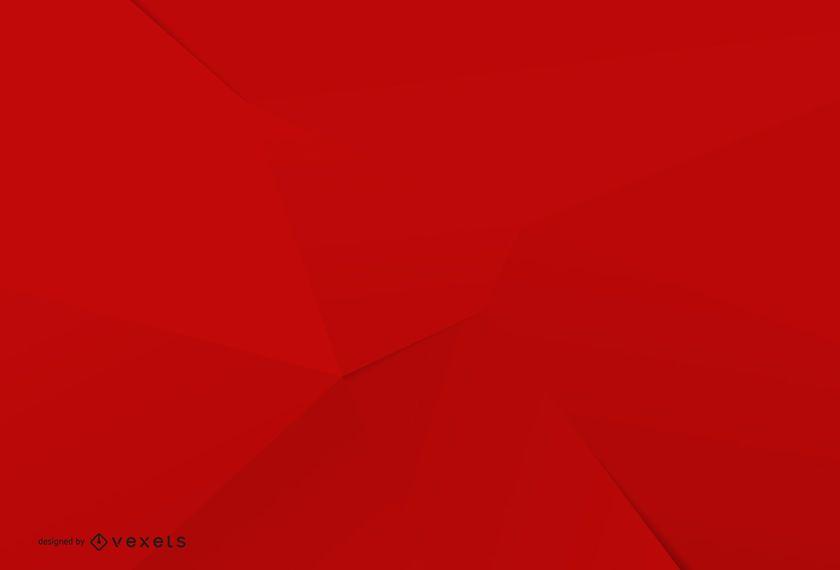 Diseño minimalista de fondo rojo