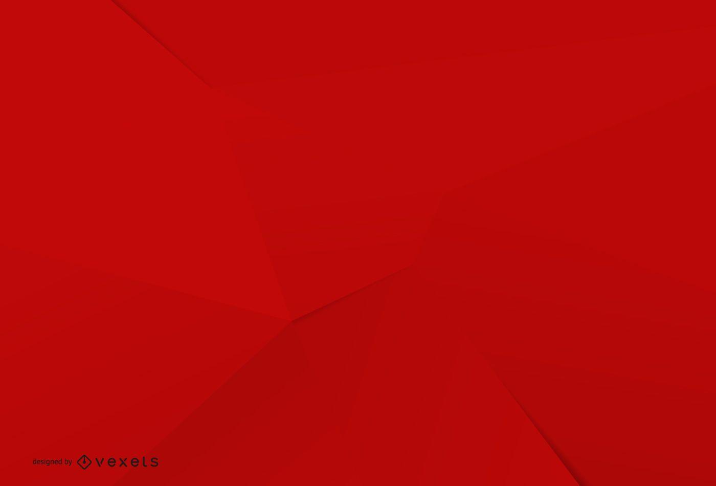 Minimalist red background design