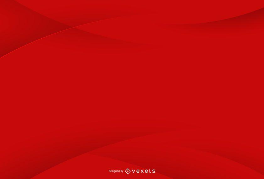 Design de fundo vermelho simples