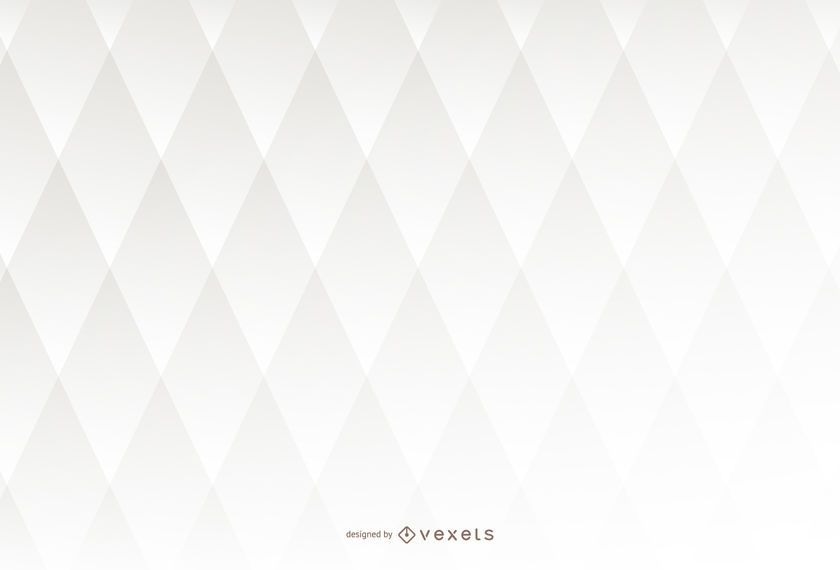 Fondo blanco 3D con rombo