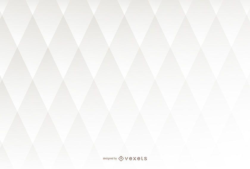 Fundo 3D branco com losango