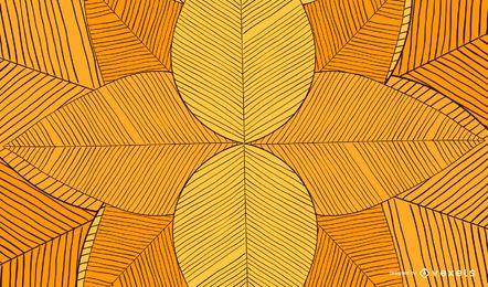 Dibujado a mano fondo abstracto geométrico