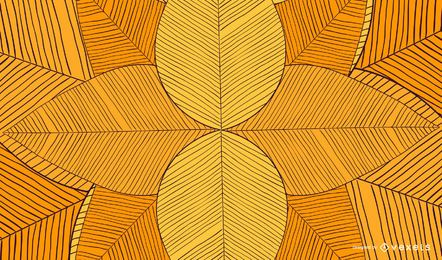 Hand drawn geometric abstract background
