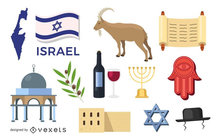 Conjunto de elementos de Israel