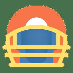 Ícone do capacete de futebol americano