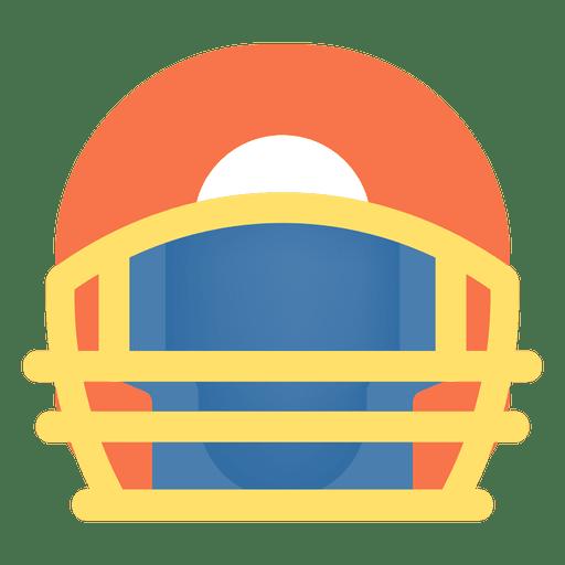 Ícone do capacete de futebol americano Transparent PNG