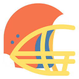 American football helmet icon american football