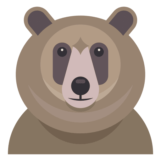 Ilustración del oso Transparent PNG