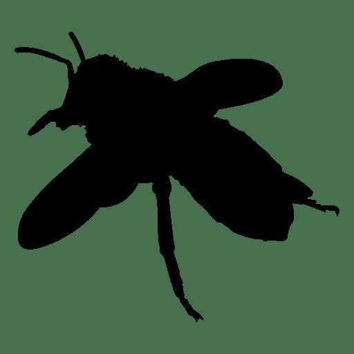 Silueta de abeja 02 Transparent PNG