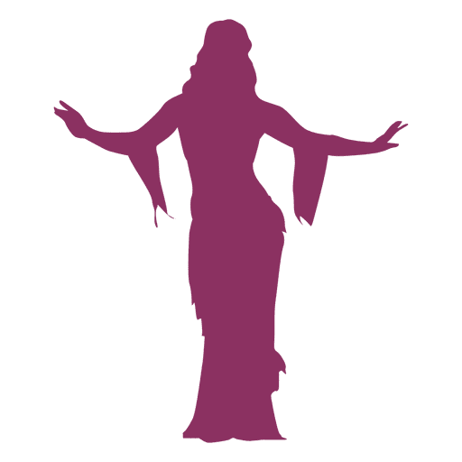 Belly Dancer Silhouette Transparent Png Svg Vector