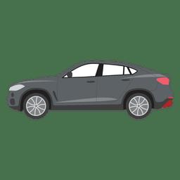 Ilustración del coche negro