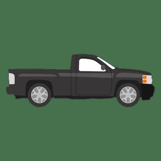 Ilustración de camioneta negra