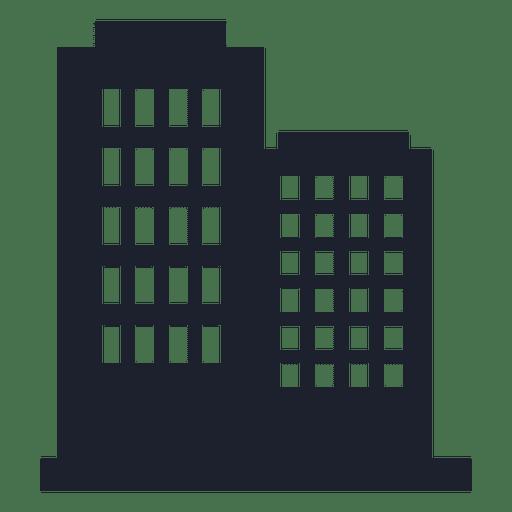Silueta de la construcción de negocios - Descargar PNG/SVG ...