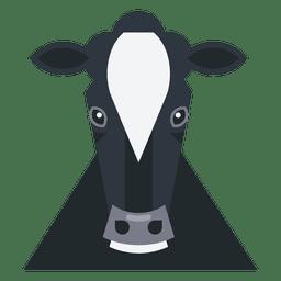 Ilustración de la vaca